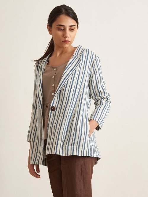 Organic Clothing Linen Women Shirt