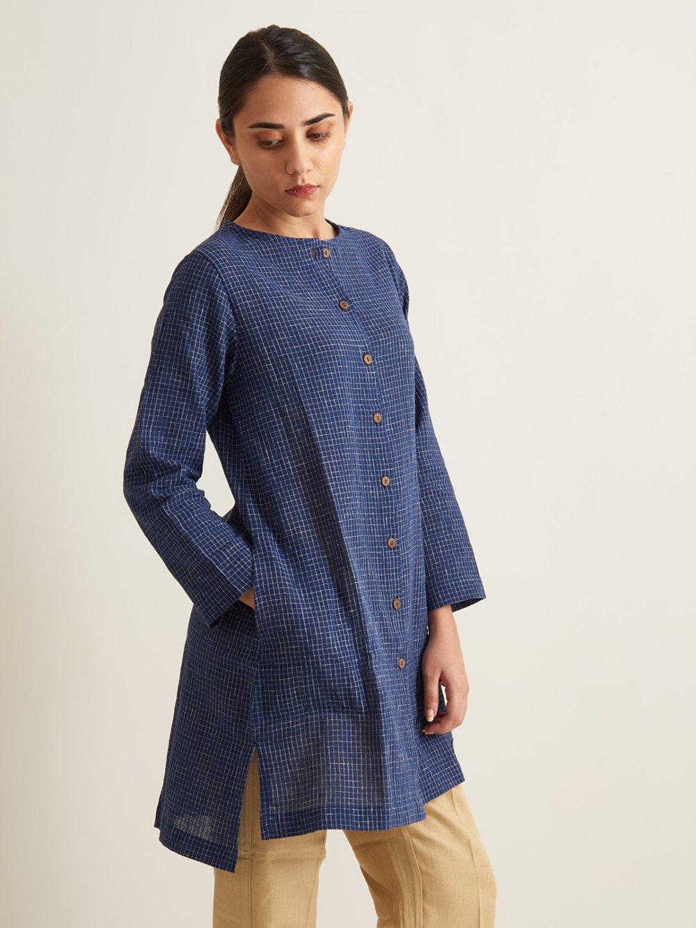Organic Clothing Linen Kurti