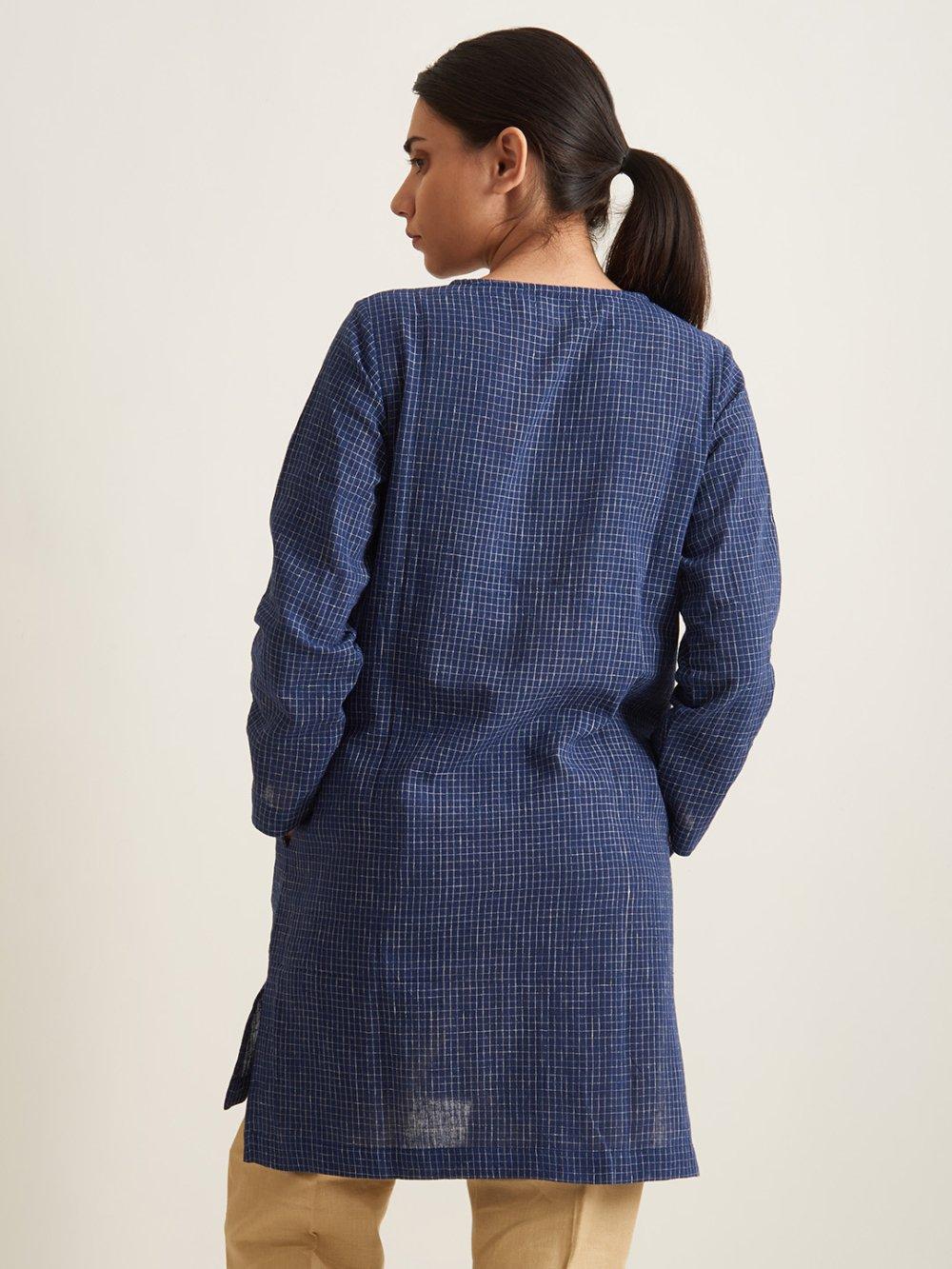 Organic Clothing Linen Women Kurti
