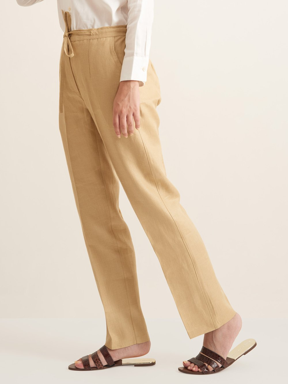Organic Clothing Linen Bottom Pant