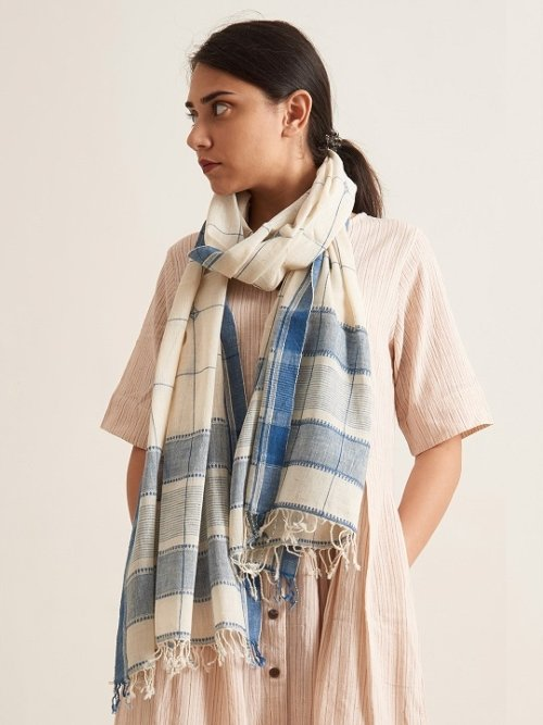 Organic Cotton Scarf By patrah.com