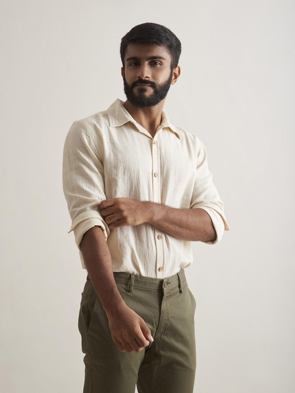 sustainable menswear brand india patrah